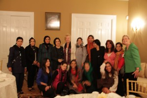 IEEW's 2012 Peace Through Business graduating class from Afghanistan